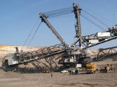 Bagger 288 (Excavator built by the German company Krupp for the energy and mining firm Rheinbraun, is a bucket-wheel excavator or mob. Guinness, Coal Mining, Big Trucks, Worlds Largest, Grande, Nasa, Germany, Content, Type