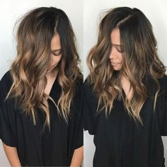 16 Hottest Balayage Hair Color Ideas for Brunettes