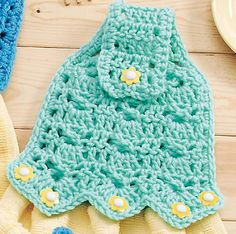 crochet towel toppers free pattern – Knitting Tips Crochet Kitchen, Crochet Home, Love Crochet, Crochet Gifts, Knit Crochet, Crochet Towel Holders, Crochet Towel Topper, Crochet Potholders, Crochet Accessories