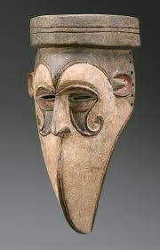 Mask from the Igbo people of southeastern Nigeria - Wood and pigment Bird Masks, Art Premier, Africa Art, Art Sculpture, Masks Art, African Masks, Art Moderne, African Culture, Native Art