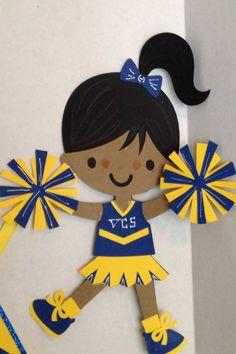 Cheerleader Party Banner