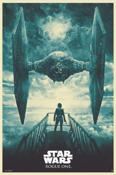 """pixalry: """"  Star Wars: Rogue One - Created by Karl Fitzgerald   Limited edition prints available at Bottleneck Gallery. """""""