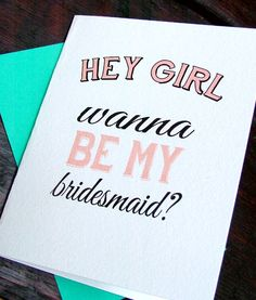 Will you be my bridesmaid DIY printable by sweetinvitationco, $5.00