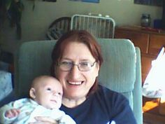me with mikey :) hard to believe he's 6 already :)