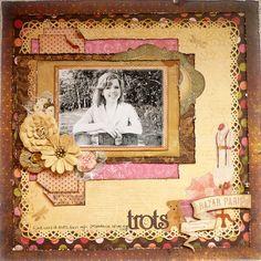 Trots/Proud *Bo Bunny* - Scrapbook.com