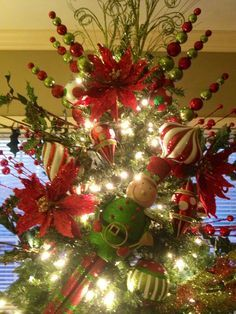Just about anything you can think of for tree toppers -- and even more!!!