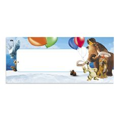 ICe AGe name holder Ice Age Birthday Party, Birthday Ideas, Ice Age 4, Place Holder, Scout Activities, Scouts, New Zealand, Printables, Party Ideas