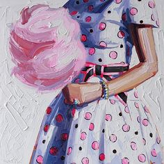 Kelly Reemtsen, Cotton Candy. This'd be a cute idea for kids. By year/what they're into. :)