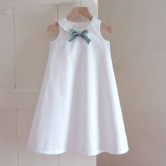 I love these little dresses and they are so easy to make!