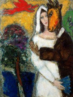 Marc Chagall - Midsummer Night's Dream  (1939)