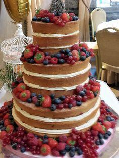 Naked wedding cake | ... Cakes Ireland, Wedding Cakes Louth, Wedding Cakes Meath, Wedding Cakes