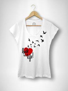 Camiseta Mujer Life