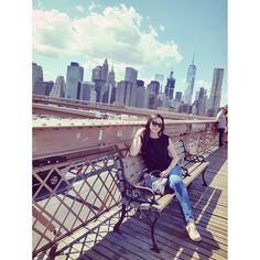 Instagram의 @minya99님: #brooklynbridge #manhattan #newyork #usa #미국 #뉴욕 #맨하튼 #브룩클린브릿지