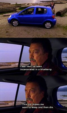 Tim Curry on Psych! - I quote this ALL THE TIME!!!
