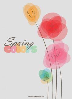 Fundo flores da primavera
