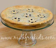Blueberry Pie ~ Milk Free Recipes – Milk Free Mom