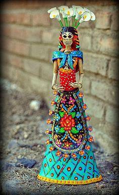 Bellas artesanias mexicanas de catrinas - Tips para mujeres