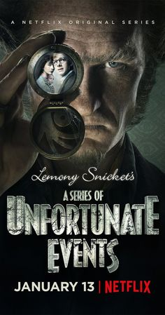 A Series of Unfortunate Events   Adventure, Drama, Family   TV Series (2017– ) After the loss of their parents in a mysterious fire, the three Baudelaire children face trials and tribulations attempting to uncover dark family secrets.
