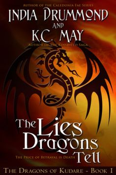 http://bookbarbarian.com/the-lies-dragons-tell-by-india-drummond-and-k-c-may/ A mysterious illness strikes down a young woman pledged to the god of the Blessed Empire. Two brothers, as helpless as the healers who say there's nothing more they can do, watch while their sister fades away.  Determined to save her, they approach a dragonborn alchemist who promises help but leads them along a path of hardship, darkness, sacrilege, and death. Impossible choices divide the brother