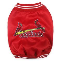Product Image for MLB® St. Louis Cardinals Pet Dugout Jacket 1 out of 2