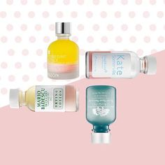 Seeing spots? Wave goodbye to pesky pimples with some great targeted treatments. The common ingredient in these is Salicylic Acid, a beta-hydroxy acid (BHA) that is anti-irritant, anti-inflammatory, and anti-microbial. It's an effective exfoliant, which helps to clear clogged skin that causes breakouts. #KateSomerville - EradiKate Acne Treatment #Origins - Super Spot Remover Acne Treatment Gel #MarioBadescu - Drying Lotion #Mizon - Acence Blemish Out Pink Spot