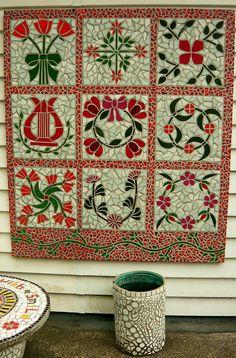 The Mosaic Garden Waihi N.Z