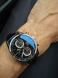 TAG Heuer Carrera 1887 | Raddest Men's Fashion Looks On The Internet: http://www.raddestlooks.org