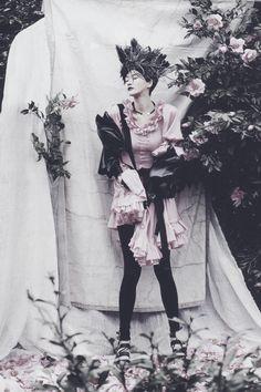 """Camellia"" by Ogh Sang Sun | Vogue Korea, April 2014."