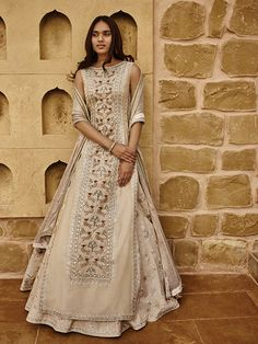 Alchemy by Anita Dongre Spring / Summer 2017 - Indian outfits - # Indian Attire, Indian Ethnic Wear, Indian Wedding Outfits, Indian Outfits, Indian Designer Outfits, Designer Dresses, Pakistani Dresses, Indian Dresses, Dress Indian Style