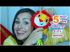 5 Must Have Toys For Baby Age 0-6 Months | Silvie Smiles - YouTube Baby Toys, 6 Months, Must Haves, Dads, Babies, Mom, Life, 6 Mo, Babys