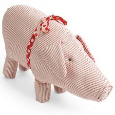 maileg large stripey pig