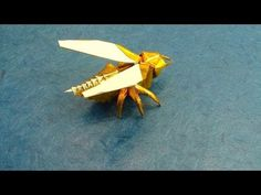Wasp Origami Tutorial (Avispa, Anibal Voyer)