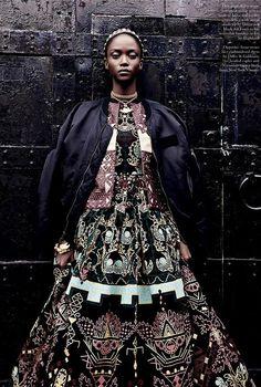 Wild West Couture Editorials - Patrick Demarchelier Shoots for Love Magazine Spring/Summer 2014 (GALLERY)