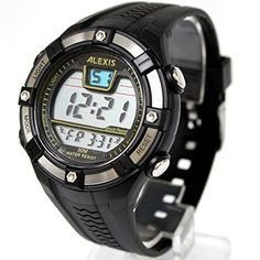 DW381B Date Alarm BackLight PNP Matt Silver Bezel Water Resist Men Digital Watch ** Want to know more, click on the image.(It is Amazon affiliate link) #like
