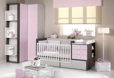 Cuna convertible nº 15 Baby Bedroom, Nursery Room, Girls Bedroom, Entertainment Wall, Baby Bedding Sets, Baby Kind, Baby Cribs, Baby Decor, Modern Bedroom