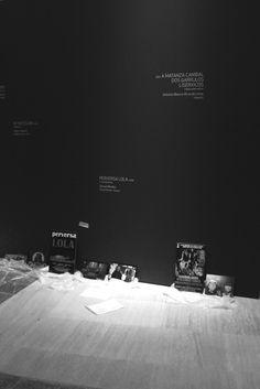 Exposición sobre os 25 anos do cine galego. Foto: Amanda Pardal.