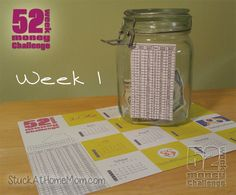 52 Week Money Challenge 2016 Printable - Are You Game? 52 Week Money Challenge, Savings Challenge, Ways To Save Money, Saving Money, Budgeting, Things To Do, Finance, Challenges, Printables