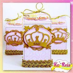 Caixa Milk luxo - Reinado/Coroa
