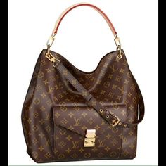 Looking for this!!!!!!!!  Metis. Willing to trade I'm in love with this bag.  I'm so ready to stop using my daughters diaper bag as a purse.  I'm finally over my financial burden so I'm going to save up so that one day I may buy this beauty!   I love big purses and also cross body purses. Louis Vuitton Bags