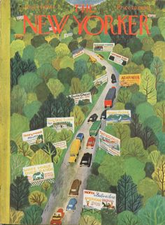 The New Yorker Cover June 14th 1947