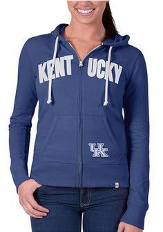 '47 Kentucky Womens Blue Pep Rally Full Zip Jacket
