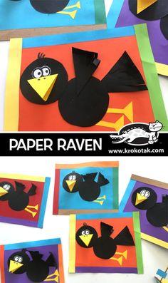 Paper Raven