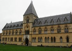 Oxford University Museum of Natural History.