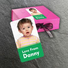 Our super cute mini photo stickers will turn your favourite memories into awesome photo stickers that you can peel and stick. Customize - Change icons, person's name and add your personal message and a image of your loved ones. Let your kids have fun and enjoyment creating that special present.