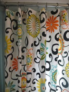curtains... shower curtain, maybe?