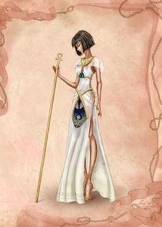Ancient Egypt Inspired Costume by basak tinli by BasakTinli.deviantart.com on @DeviantArt