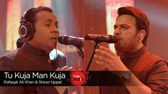 'Tu Kuja Man Kuja' is a mesmerizing qawwali built upon a cyclic music structure that draws you in from start to finish within the space of its meticulously selected soundscapes. Rafaqat Ali Khan's effortless and pitch perfect vocals brings the track into a spiritual and cosmic realm exhibiting words penned by Muzaffar Warsi, and originally composed by the maestro – Nusrat Fateh Ali Khan.