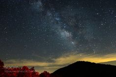 Milky Way from Brasstown Bald Hiawassee Georgia  Camera: Canon EOS 70D Focal Length: 18mm Shutter Speed: 1sec Aperture: f/5.6 ISO/Film: 4000  Image credit: http://ift.tt/29dwynK Visit http://ift.tt/1qPHad3 and read how to see the #MilkyWay  #Galaxy #Stars #Nightscape #Astrophotography