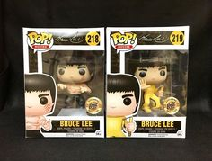 Funko Pop Bait Exclusive Bruce Lee Game of Death Enter The Dragon Set RARE