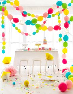 Linking Balloons Party Garland | Oh Happy Day! | Bloglovin'